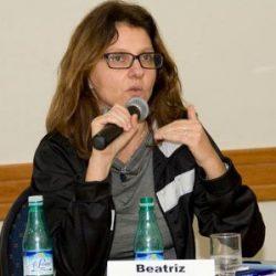 Foto de rosto de Beatriz Galli, relatora de direitos humanos da Plataforma Dhesca