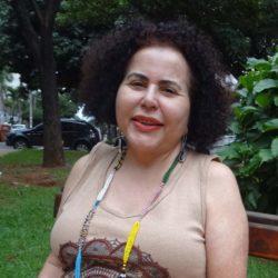 Foto de rosto de Lucia Moraes, relatora de direitos humanos da Plataforma Dhesca