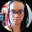 Foto de rosto de Jaqueline Silva, relatora de direitos humanos da Plataforma Dhesca