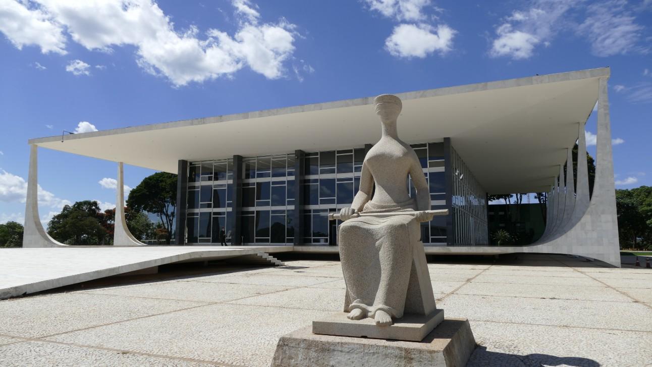 Em foto, é possível ver fachada do Supremo Tribunal Federal (STF)